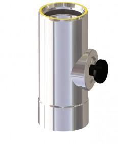 Canna fumaria coibentata acciaio - Elemento di ispezione