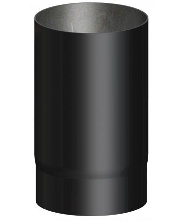 TUBO NERO CANNA FUMARIA L.500 M/F PER LEGNA