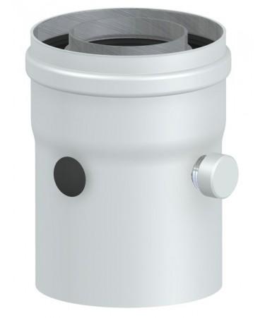 PARTENZA VERTICALE COASSIALE 60 - 100 (interno F/F): CANALI DA FUMO PER CALDAIE A GAS TRADIZIONALE