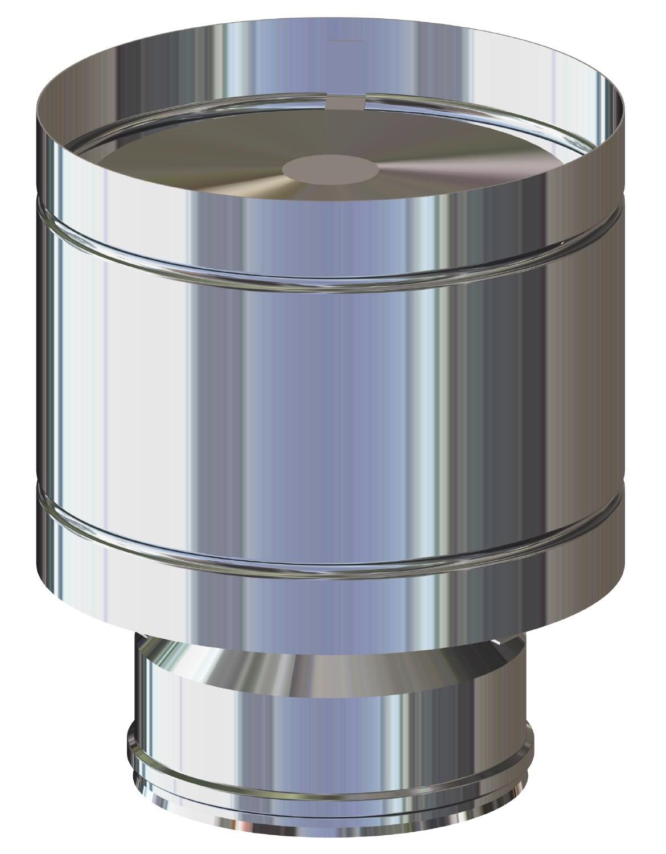 Tubi per canne fumarie doppia parete in acciaio inox prezzi ... a3755db1acb9