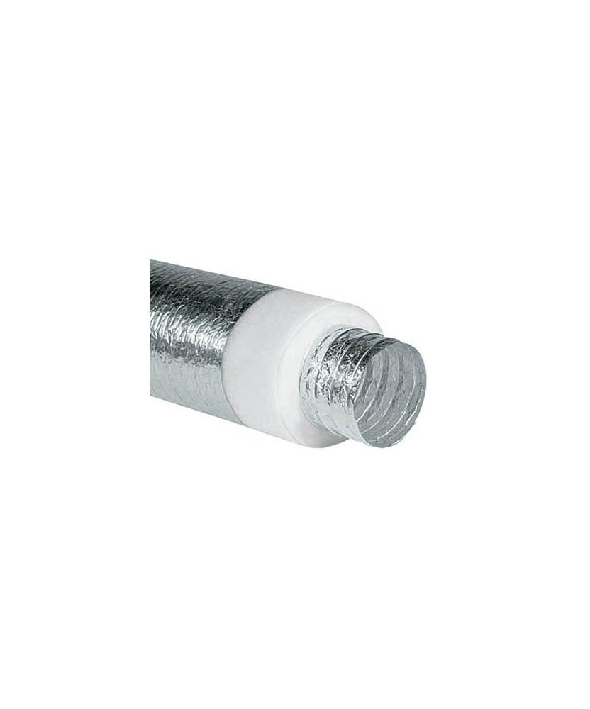 Tubi Aria Calda Stufa Pellet tubo flessibile isolato - canale da fumo per stufa, camino, caldaia a pellet